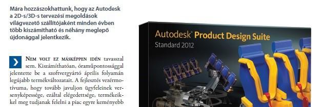 Előny az Autodesknél – MCAD
