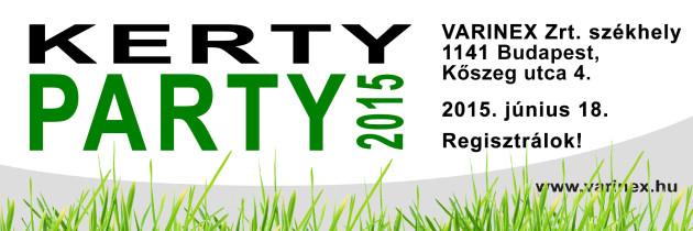 Kerty Party 2015 Program