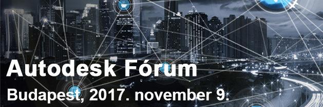 Autodesk Fórum – Az Alkotás jövője konferencia