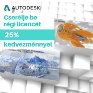 Autodesk árak 25%-kal csökkentve
