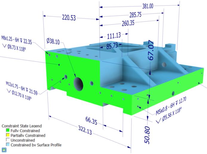 Autodesk Inventor 2019 újdonságok - 3D feliratozás