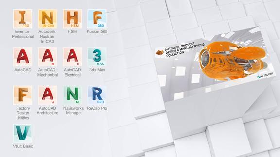 Product Design & Manufacturing Collection - Gépipari Gyűjtemény főbb szoftverei