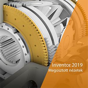 Inventor 2019 újdonságok – megosztott nézetek